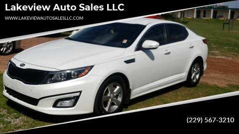 2014 Kia Optima for sale at Lakeview Auto Sales LLC in Sycamore GA