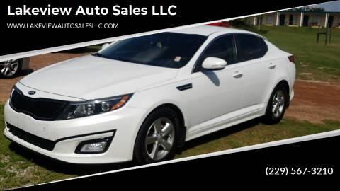 2014 Kia Optima for sale at Lakeview Auto Sales LLC in Sycamore GA