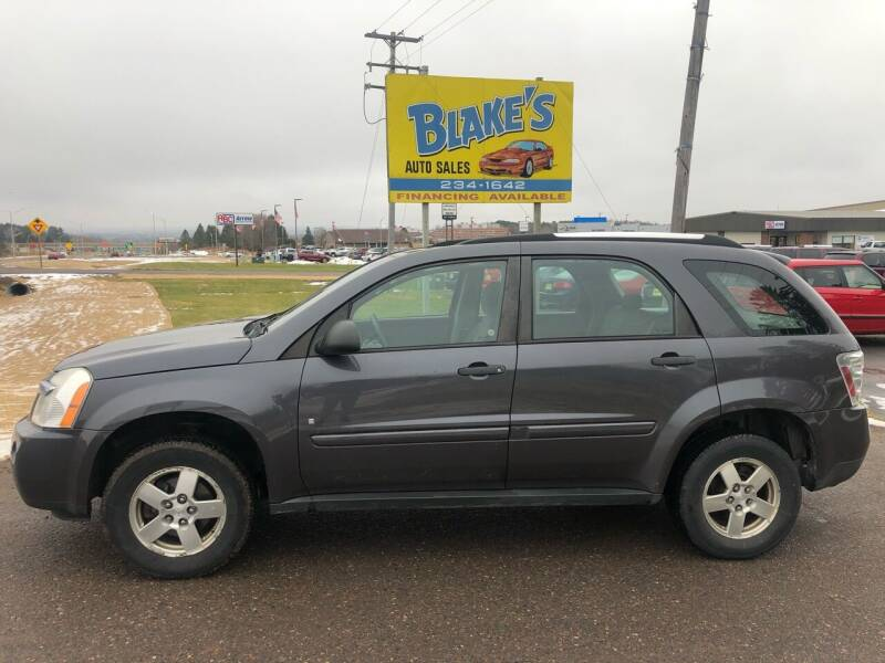 2008 Chevrolet Equinox for sale at Blakes Auto Sales in Rice Lake WI