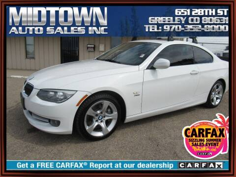2011 BMW 3 Series for sale at MIDTOWN AUTO SALES INC in Greeley CO