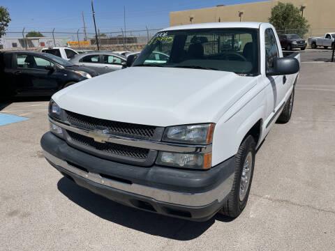 2006 Chevrolet Silverado 1500 for sale at Legend Auto Sales in El Paso TX