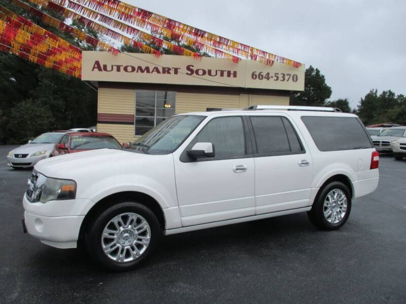 2011 Ford Expedition EL for sale at Automart South in Alabaster AL