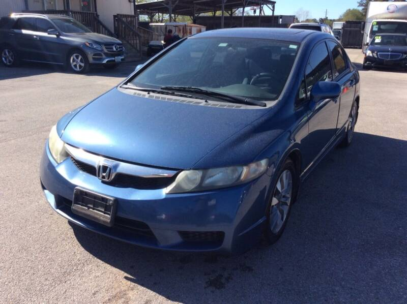 2009 Honda Civic for sale at OASIS PARK & SELL in Spring TX