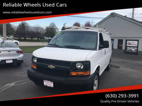 2014 Chevrolet Express Cargo for sale at Reliable Wheels Used Cars in West Chicago IL
