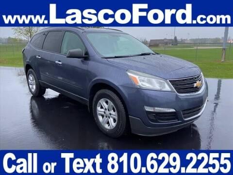 2014 Chevrolet Traverse for sale at LASCO FORD in Fenton MI