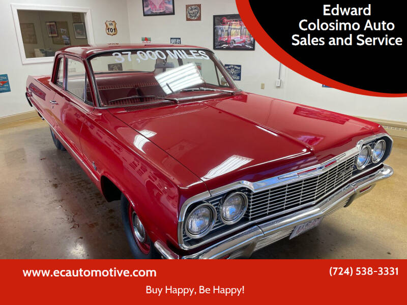 1964 Chevrolet Biscayne for sale at Edward Colosimo Auto Sales and Service in Evans City PA