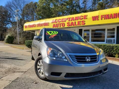 2009 Honda Odyssey for sale at Acceptance Auto Sales in Marietta GA