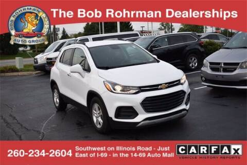 2019 Chevrolet Trax for sale at BOB ROHRMAN FORT WAYNE TOYOTA in Fort Wayne IN