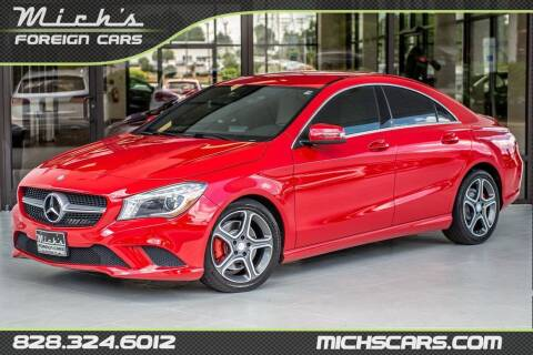 2014 Mercedes-Benz CLA for sale at Mich's Foreign Cars in Hickory NC