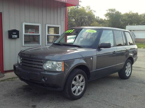 2006 Land Rover Range Rover for sale at Midwest Auto & Truck 2 LLC in Mansfield OH