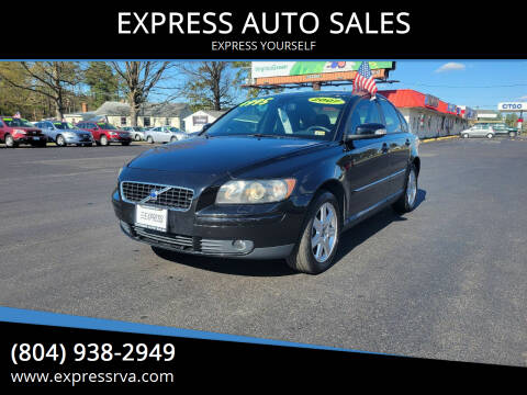 2007 Volvo S40 for sale at EXPRESS AUTO SALES in Midlothian VA