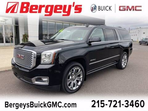 2015 GMC Yukon XL for sale at Bergey's Buick GMC in Souderton PA