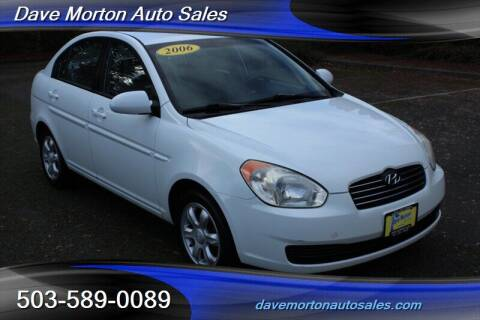 2006 Hyundai Accent for sale at Dave Morton Auto Sales in Salem OR