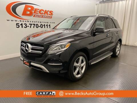 2019 Mercedes-Benz GLE for sale at Becks Auto Group in Mason OH