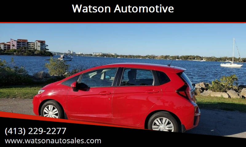 2015 Honda Fit for sale at Watson Automotive in Sheffield MA