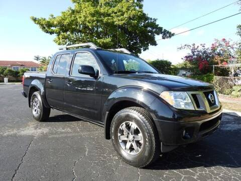 2014 Nissan Frontier for sale at SUPER DEAL MOTORS 441 in Hollywood FL