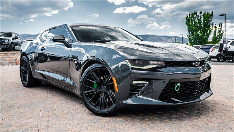 2017 Chevrolet Camaro for sale at MUSCLE MOTORS AUTO SALES INC in Reno NV