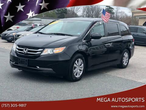 2014 Honda Odyssey for sale at Mega Autosports in Chesapeake VA