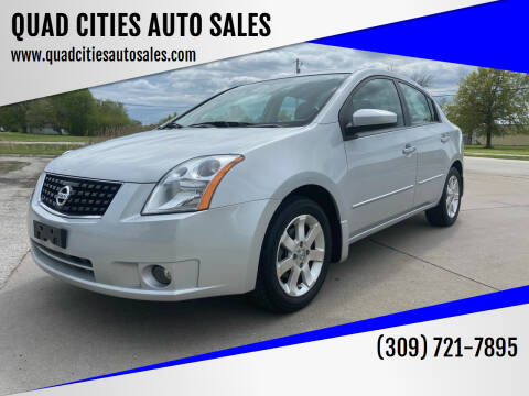 2008 Nissan Sentra for sale at QUAD CITIES AUTO SALES in Milan IL