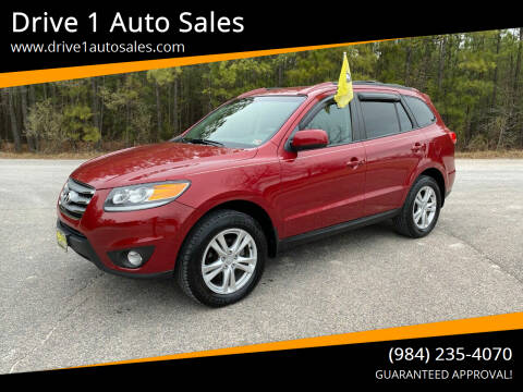 2012 Hyundai Santa Fe for sale at Drive 1 Auto Sales in Wake Forest NC