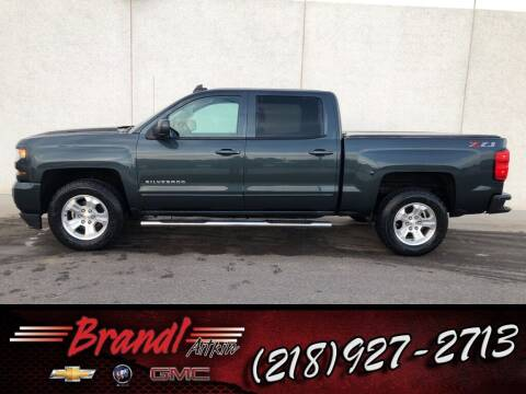 2018 Chevrolet Silverado 1500 for sale at Brandl GM in Aitkin MN