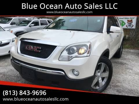 2012 GMC Acadia for sale at Blue Ocean Auto Sales LLC in Tampa FL