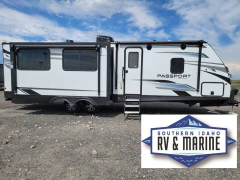 2021 KEYSTONE PASSPORT 2870RLSWE for sale at SOUTHERN IDAHO RV AND MARINE - New Trailers in Jerome ID