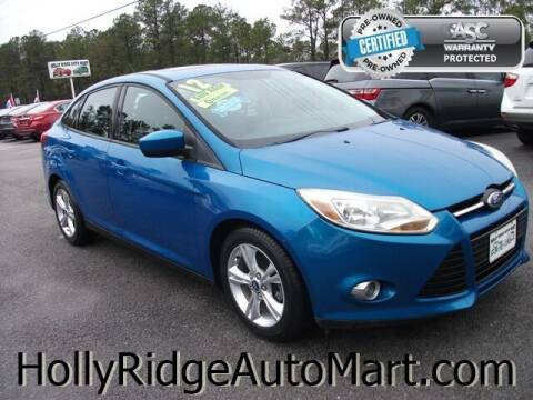 2012 Ford Focus for sale at Holly Ridge Auto Mart in Holly Ridge NC