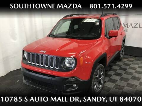 2018 Jeep Renegade for sale at Southtowne Mazda of Sandy in Sandy UT