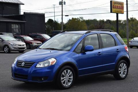 2013 Suzuki SX4 Crossover for sale at Broadway Garage of Columbia County Inc. in Hudson NY