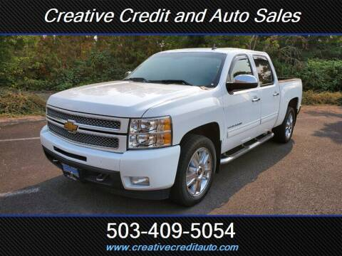 2012 Chevrolet Silverado 1500 for sale at Creative Credit & Auto Sales in Salem OR