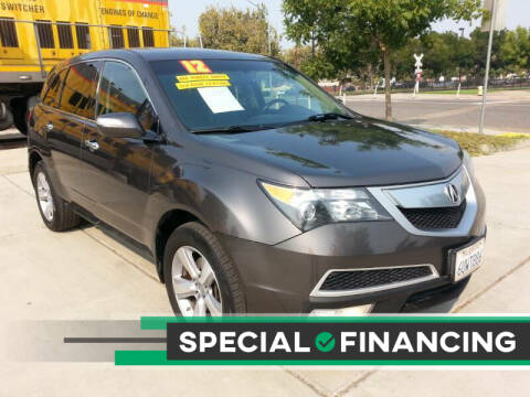 2012 Acura MDX for sale at Super Cars Sales Inc #1 - Super Auto Sales Inc #2 in Modesto CA