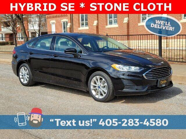 2020 Ford Fusion Hybrid for sale in Okarche, OK
