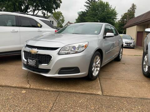 2015 Chevrolet Malibu for sale at QUALITY MOTORS in Cuba City WI