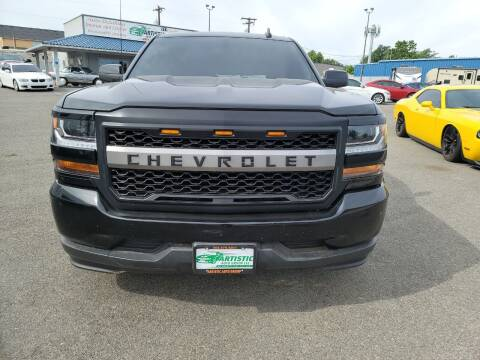 2016 Chevrolet Silverado 1500 for sale at Artistic Auto Group, LLC in Kennewick WA
