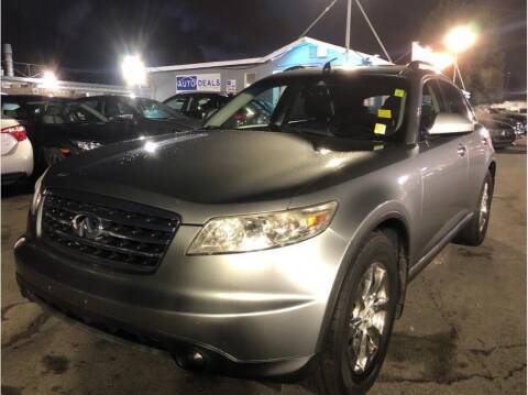 2006 Infiniti FX35 for sale at AutoDeals in Hayward CA