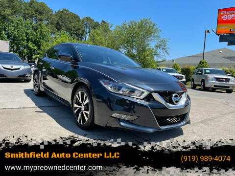 2016 Nissan Maxima for sale at Smithfield Auto Center LLC in Smithfield NC