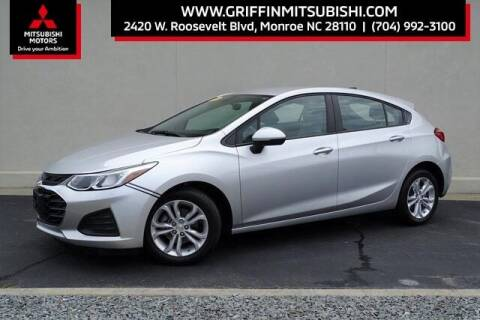 2019 Chevrolet Cruze for sale at Griffin Mitsubishi in Monroe NC