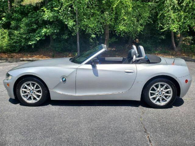 2005 BMW Z4 for sale at Cross Automotive in Carrollton GA