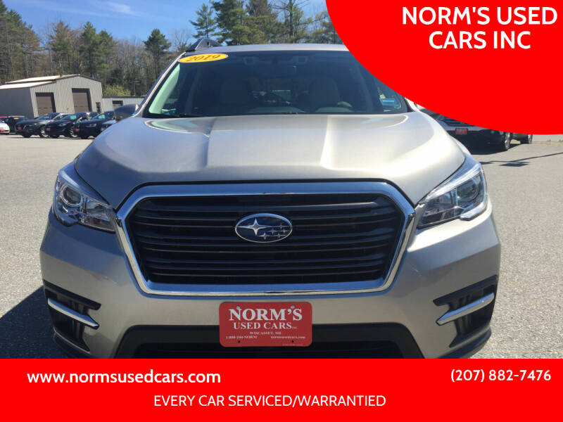 2019 Subaru Ascent for sale at NORM'S USED CARS INC in Wiscasset ME