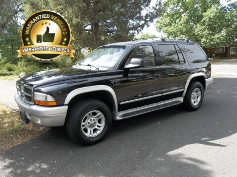 2002 Dodge Durango for sale at Central Denver Auto Sales in Englewood CO