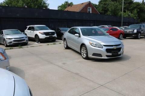 2014 Chevrolet Malibu for sale at F & M AUTO SALES in Detroit MI
