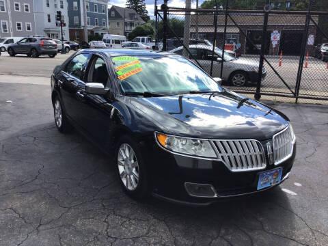 2010 Lincoln MKZ for sale at Adams Street Motor Company LLC in Boston MA
