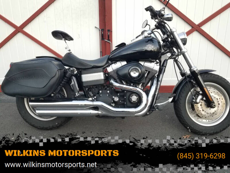 2009 Harley-Davidson Fat Bob for sale at WILKINS MOTORSPORTS in Brewster NY