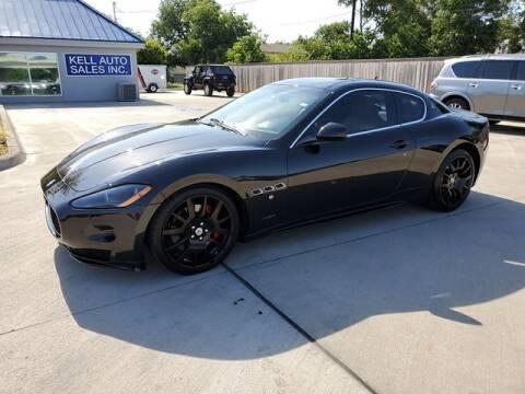 2012 Maserati GranTurismo for sale at Kell Auto Sales, Inc - Grace Street in Wichita Falls TX