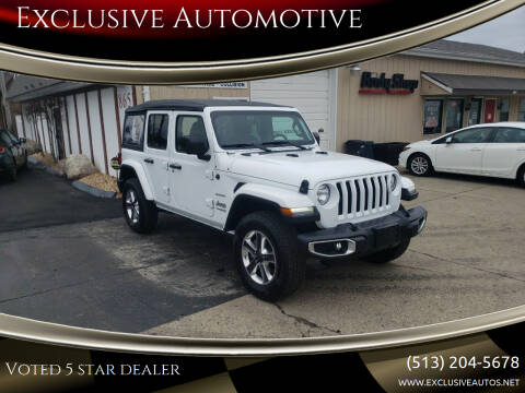 2018 Jeep Wrangler Unlimited for sale at Exclusive Automotive in West Chester OH