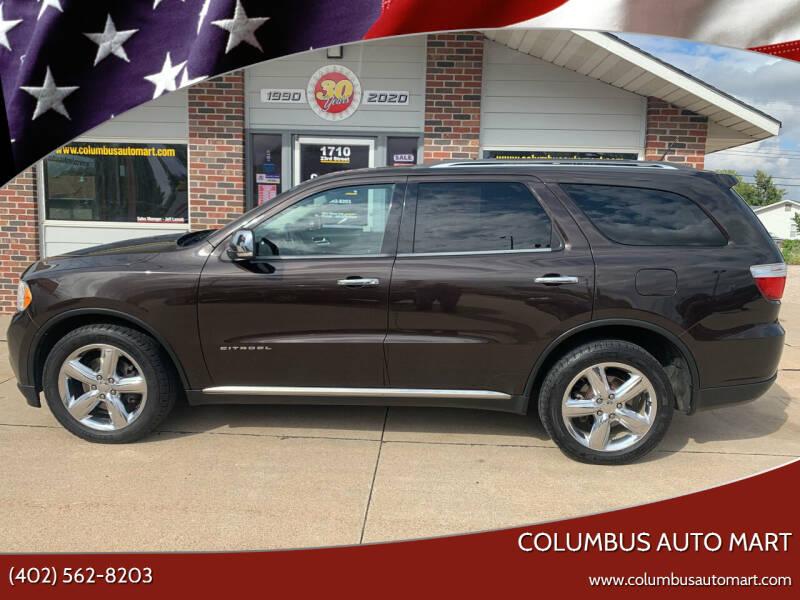 2013 Dodge Durango for sale at Columbus Auto Mart in Columbus NE