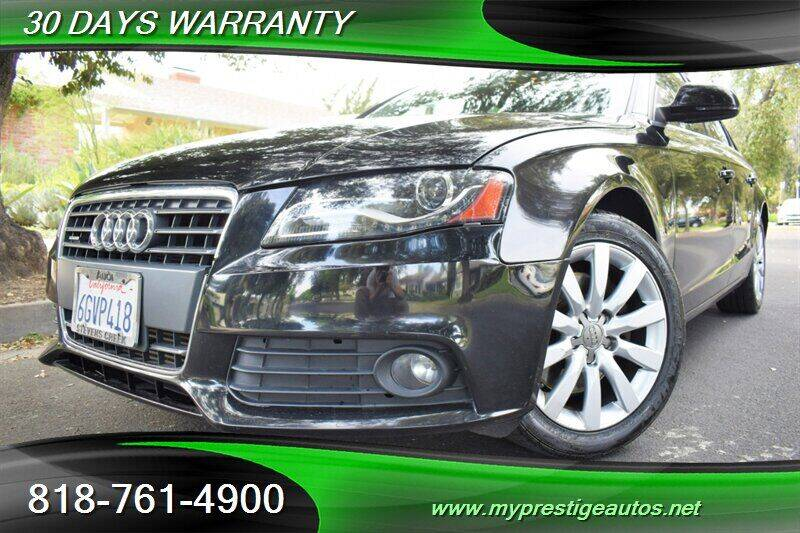 2009 Audi A4 for sale at Prestige Auto Sports Inc in North Hollywood CA