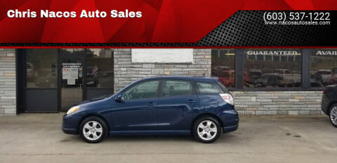 2006 Toyota Matrix for sale at Chris Nacos Auto Sales in Derry NH