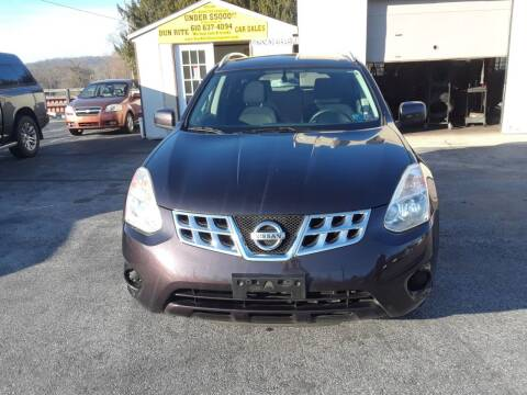 2013 Nissan Rogue for sale at Dun Rite Car Sales in Downingtown PA
